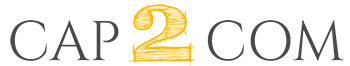 Logo cap2com, agence web en Vendée